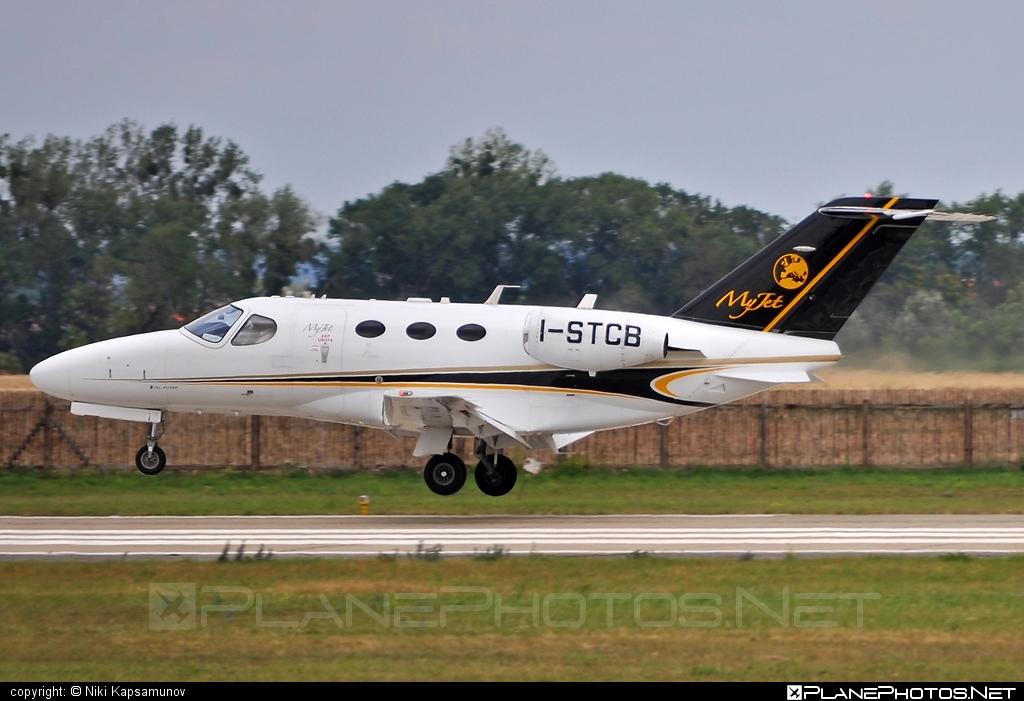 Cessna 510 Citation Mustang - I-STCB operated by MyJet #cessna #myjet