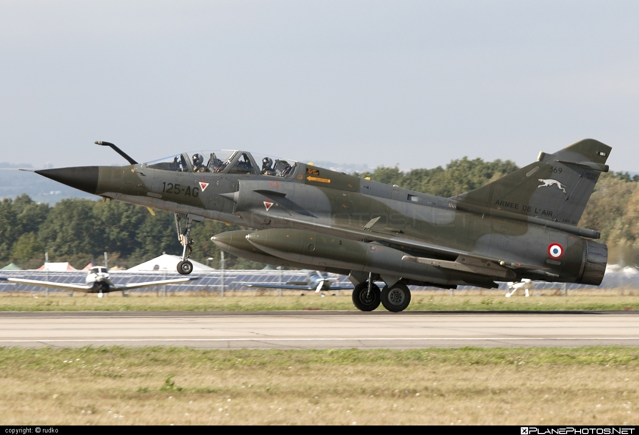 Dassault Mirage 2000N - 369 operated by Armée de l´Air (French Air Force) #armeedelair #dassault #frenchairforce #natodays #natodays2012
