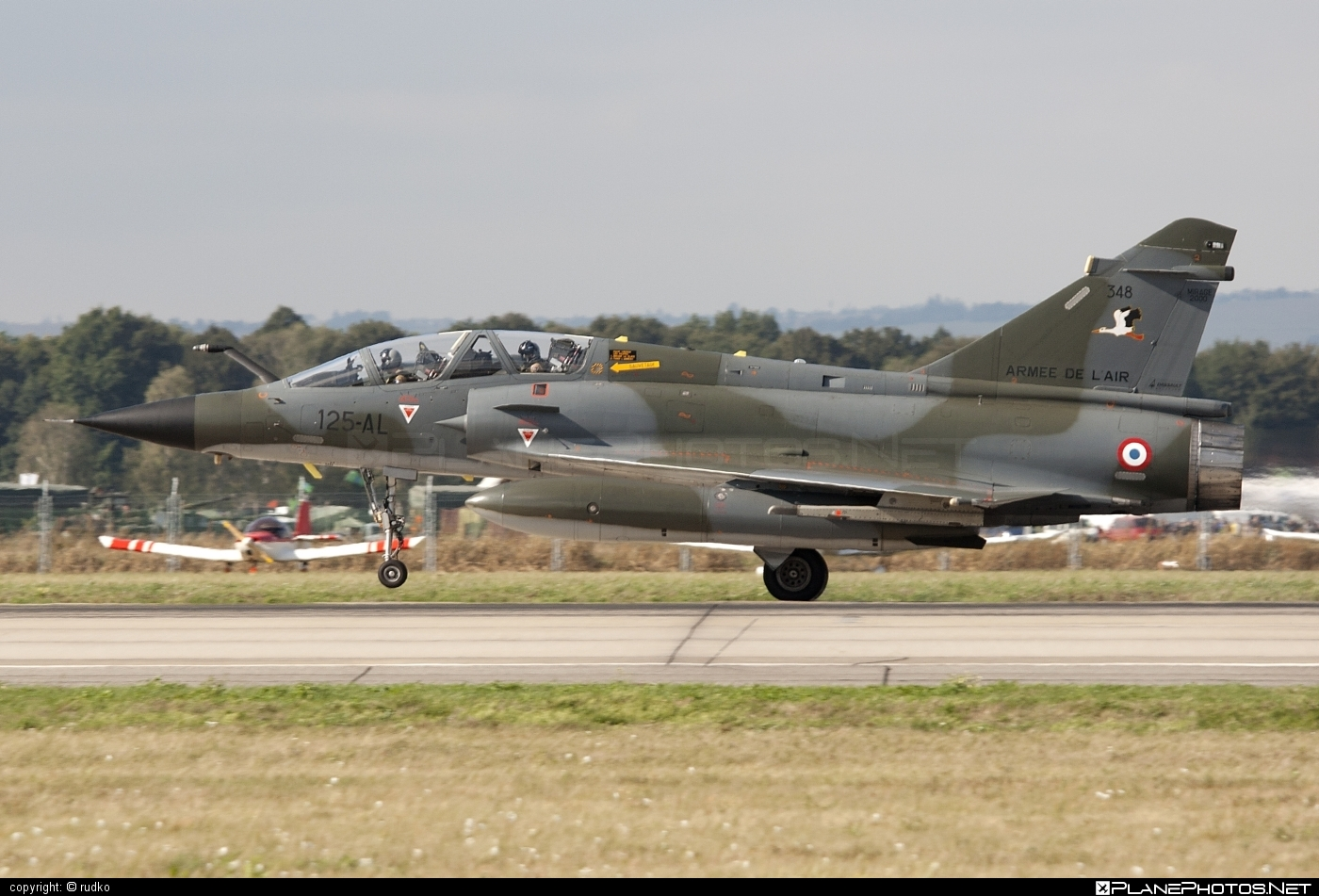 Dassault Mirage 2000N - 348 operated by Armée de l´Air (French Air Force) #armeedelair #dassault #frenchairforce #natodays #natodays2012