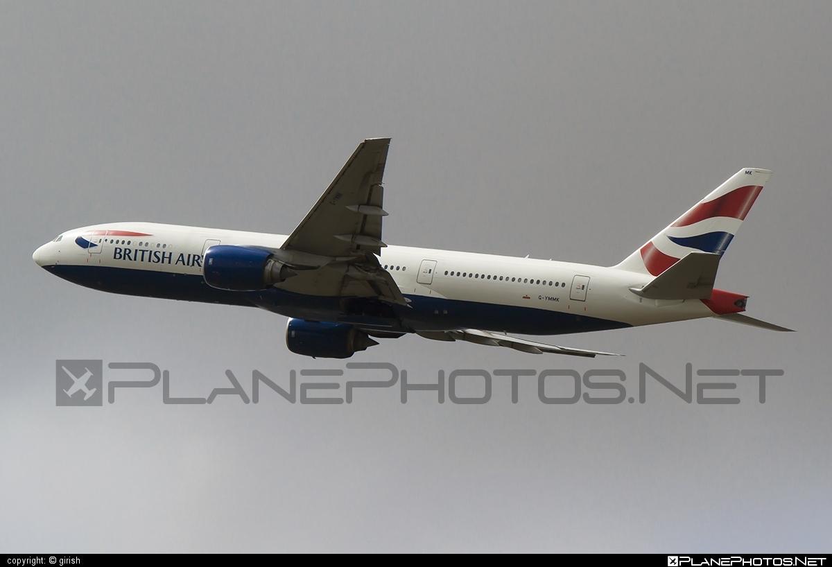 Boeing 777-200ER - G-YMMK operated by British Airways #b777 #b777er #boeing #boeing777 #britishairways #tripleseven