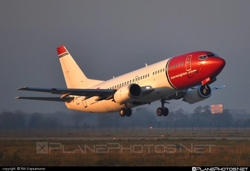 Boeing 737-300 - LN-KKN operated by Norwegian Air Shuttle #b737 #boeing #boeing737 #norwegian #norwegianair #norwegianairshuttle