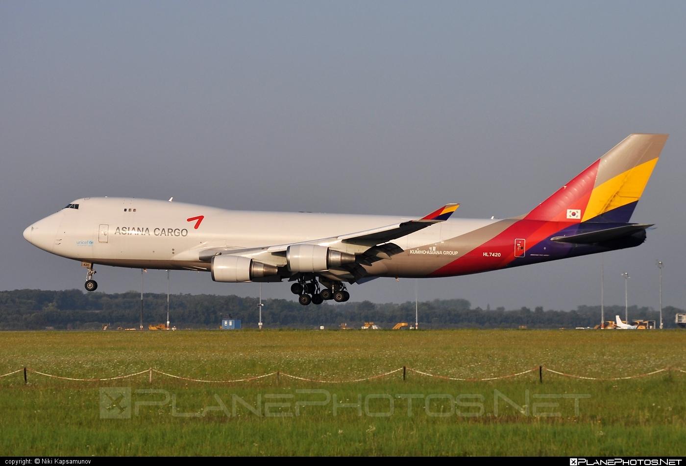 Boeing 747-400F - HL7420 operated by Asiana Cargo #asianacargo #b747 #boeing #boeing747 #jumbo