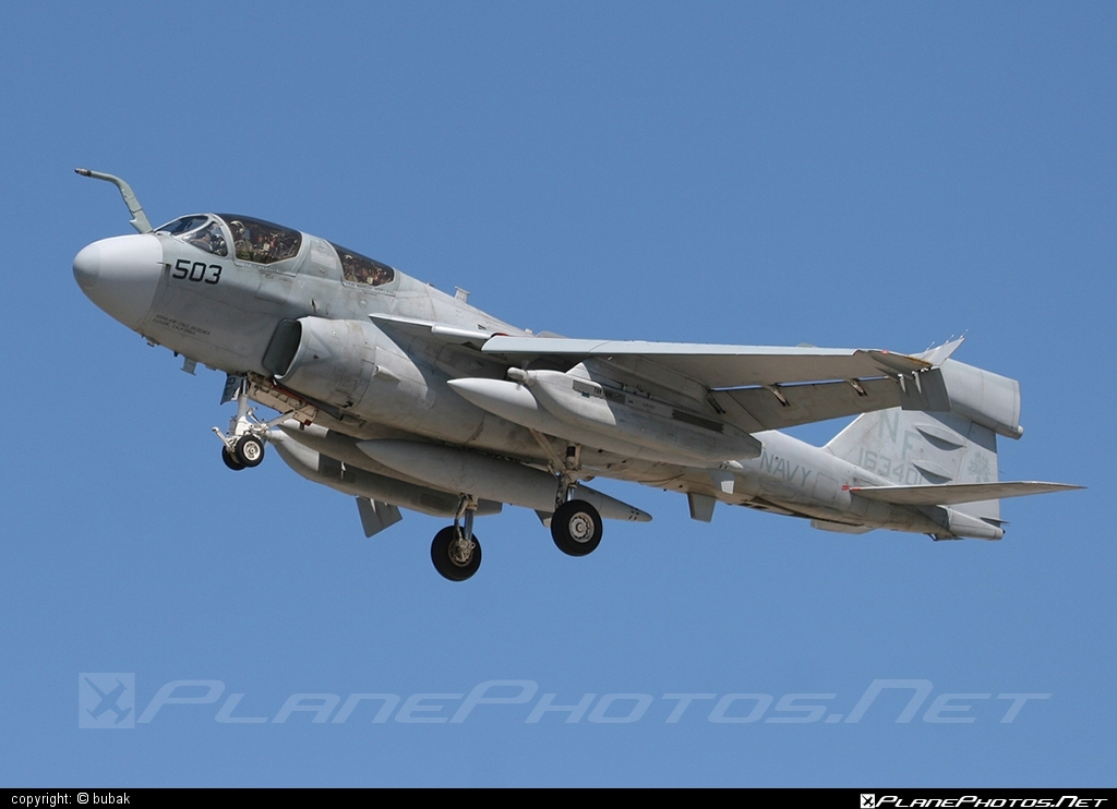 Grumman EA-6B Prowler - 163401 operated by US Navy (USN) #grumman