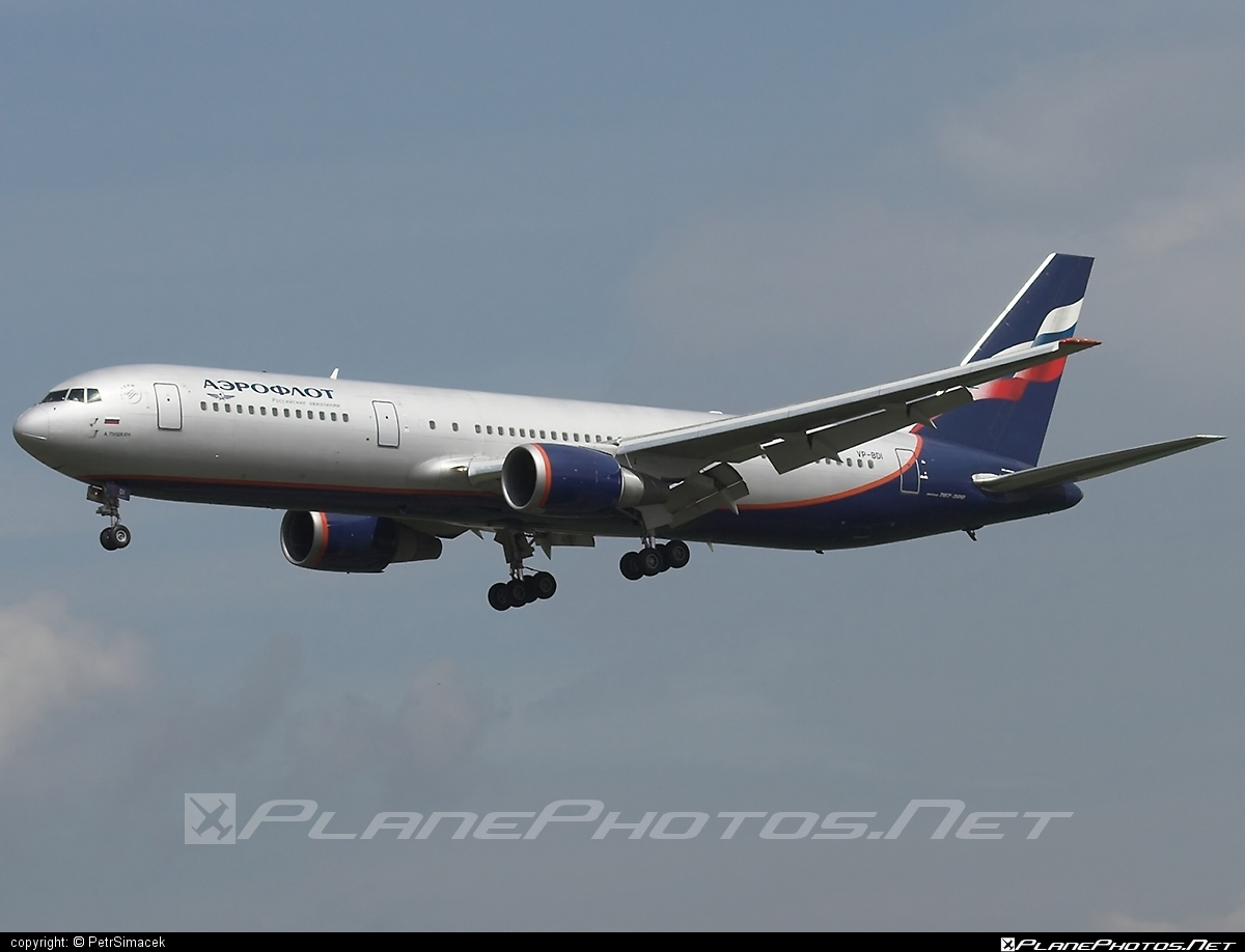 Boeing 767-300ER - VP-BDI operated by Aeroflot #aeroflot #b767 #b767er #boeing #boeing767