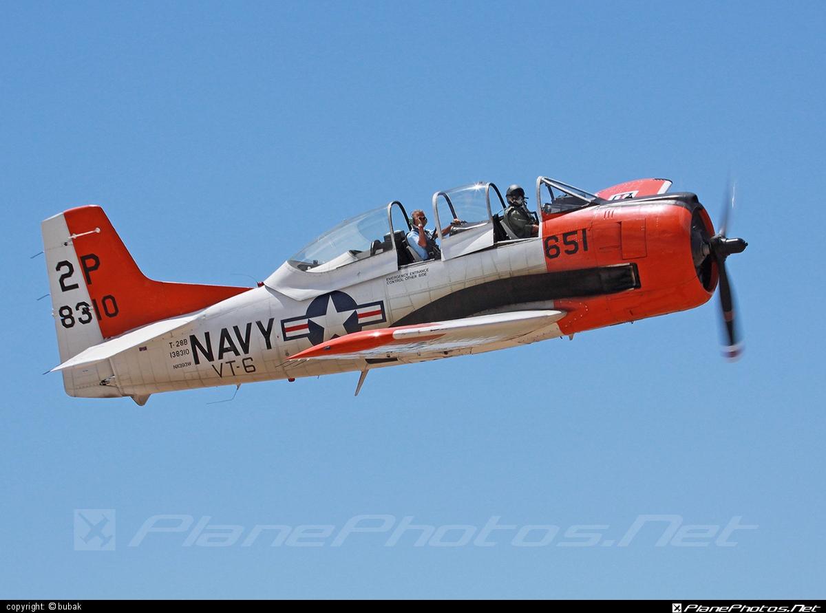 North American T-28B Trojan - N393W operated by Private operator #northamerican #northamericant28 #t28 #t28b #t28btrojan #t28trojan