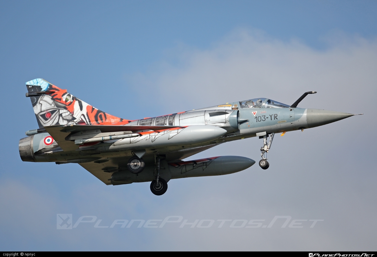 Dassault Mirage 2000C - 91 operated by Armée de l´Air (French Air Force) #armeedelair #dassault #frenchairforce