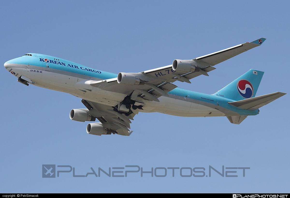 Boeing 747-400ERF - HL7602 operated by Korean Air Cargo #b747 #b747erf #b747freighter #boeing #boeing747 #jumbo #koreanair #koreanaircargo