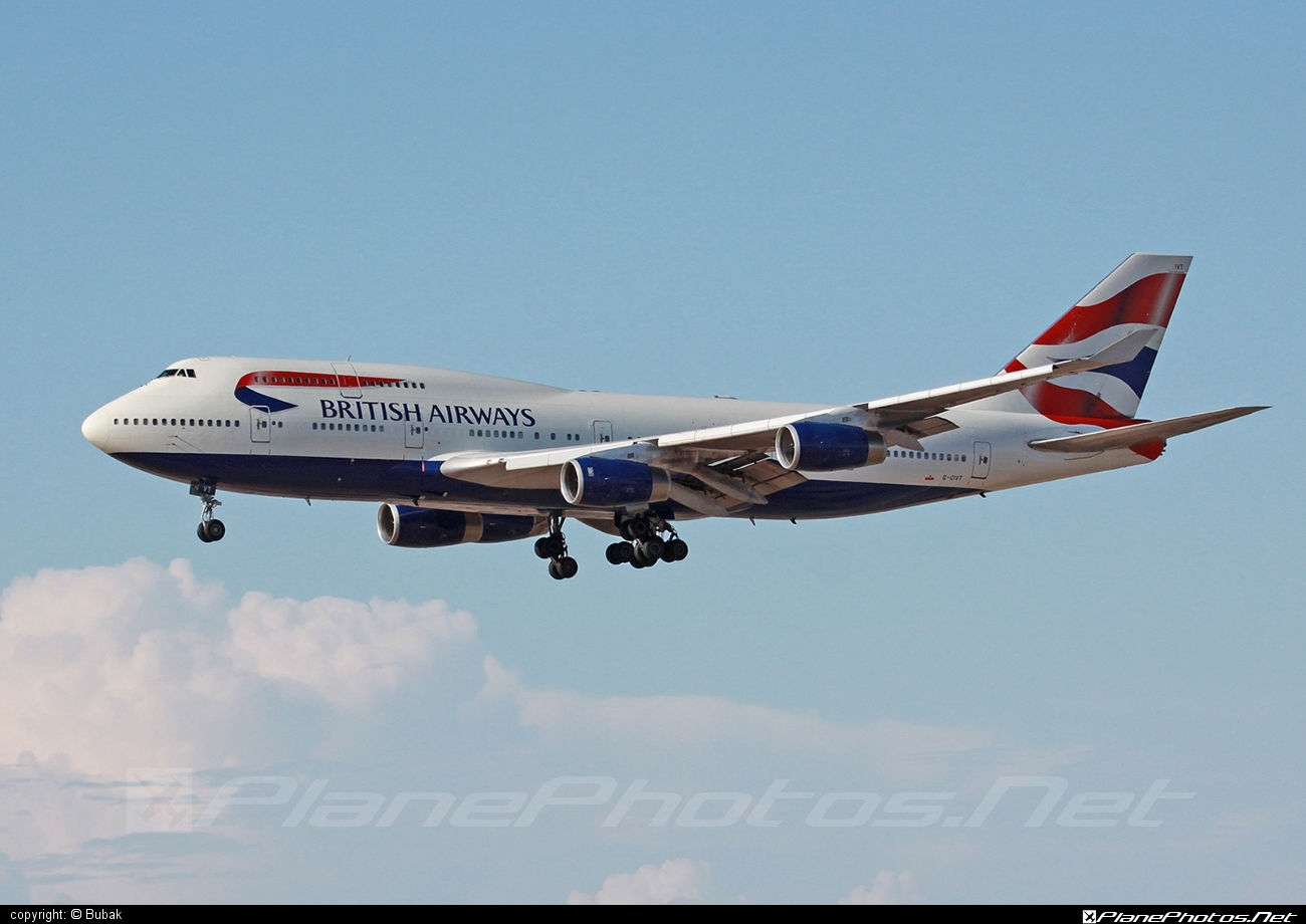 Boeing 747-400 - G-CIVT operated by British Airways #b747 #boeing #boeing747 #britishairways #jumbo
