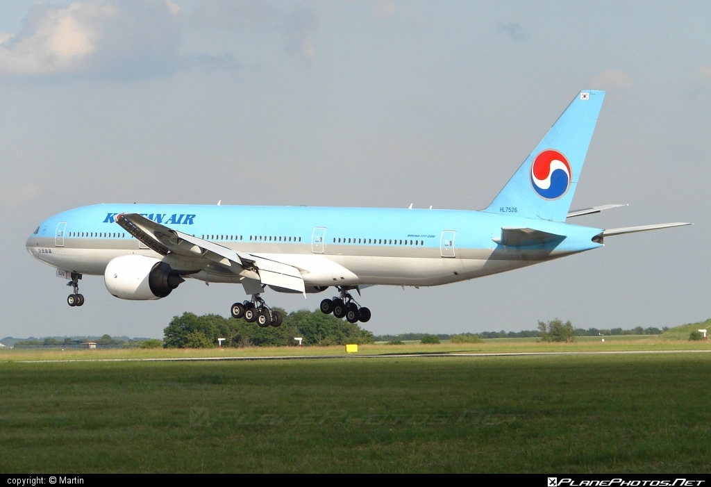 Boeing 777-200ER - HL7526  operated by Korean Air #b777 #b777er #boeing #boeing777 #koreanair #tripleseven