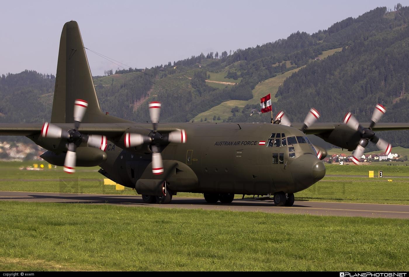 Lockheed C-130K Hercules - 8T-CA operated by Österreichische Luftstreitkräfte (Austrian Air Force) #austrianairforce #lockheed