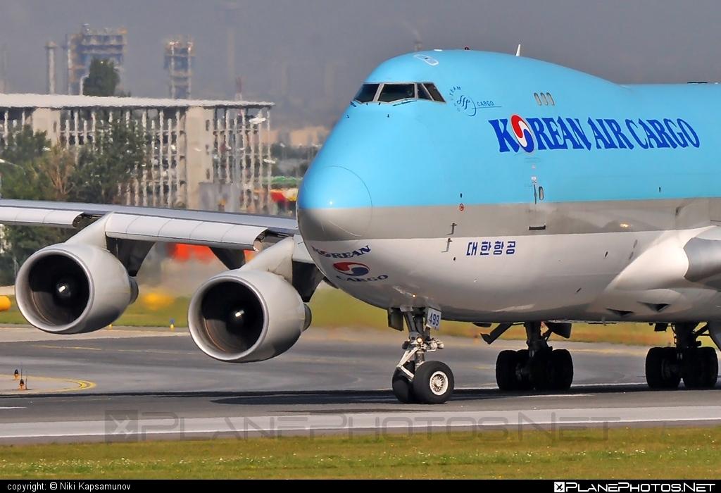 Korean Air Cargo Boeing 747-400ERF - HL7499 #b747 #b747erf #b747freighter #boeing #boeing747 #jumbo #koreanair #koreanaircargo