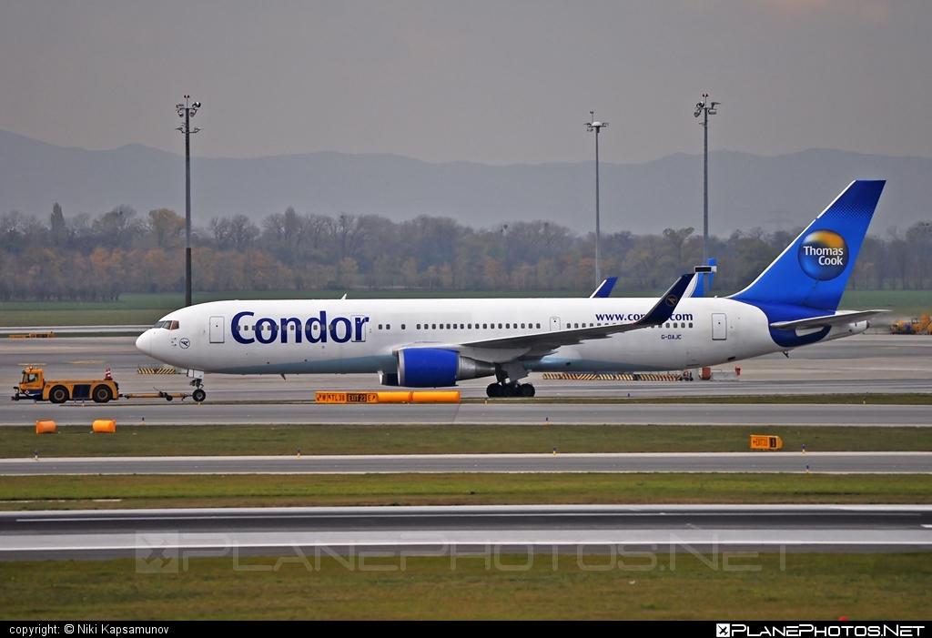 Boeing 767-300ER - G-DAJC operated by Condor #b767 #b767er #boeing #boeing767