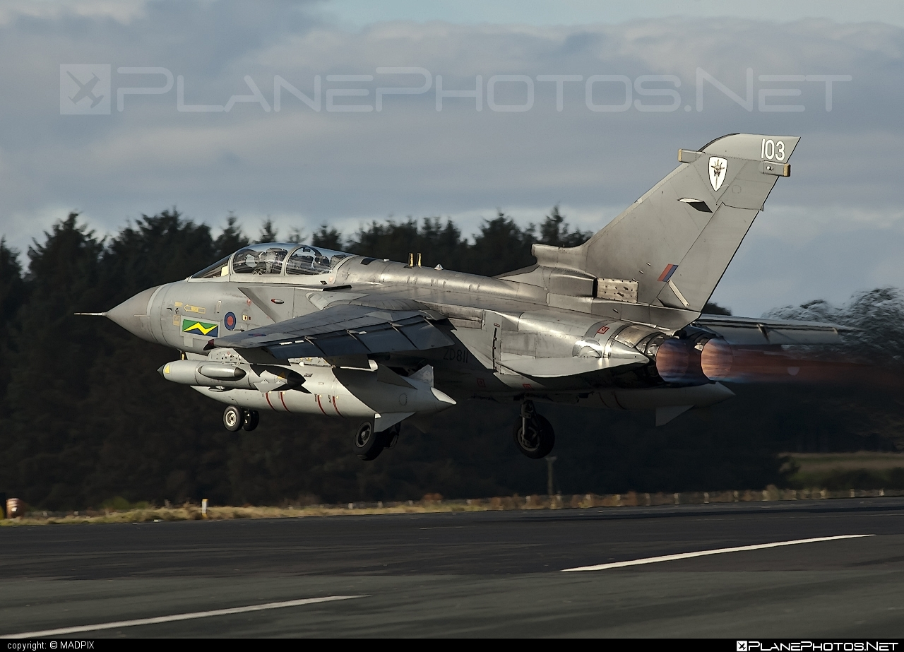 Royal Air Force (RAF) Panavia Tornado GR.4 - ZD811