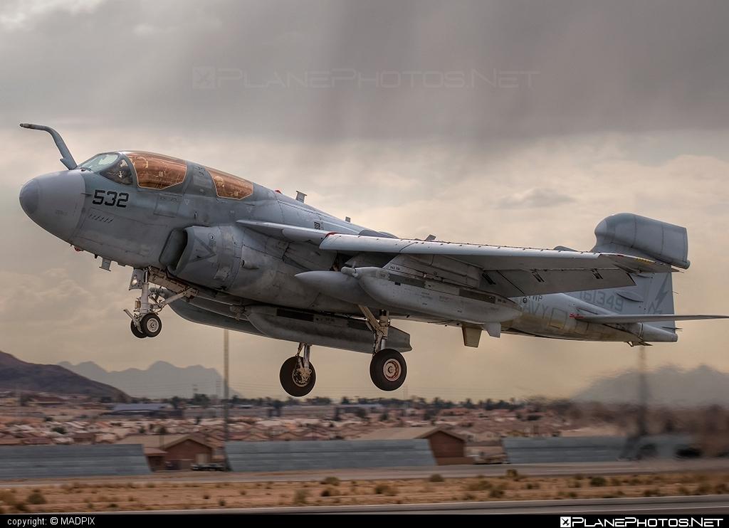 Grumman EA-6B Prowler - 161349 operated by US Navy (USN) #grumman