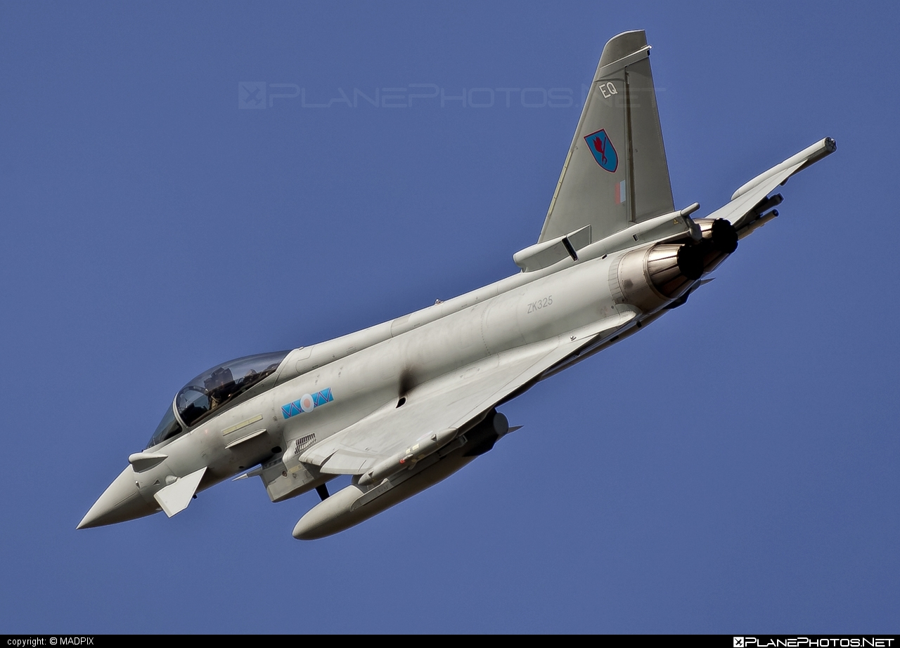 Eurofighter Typhoon FGR.4 - ZK325 operated by Royal Air Force (RAF) #eurofighter #raf #royalairforce #typhoon