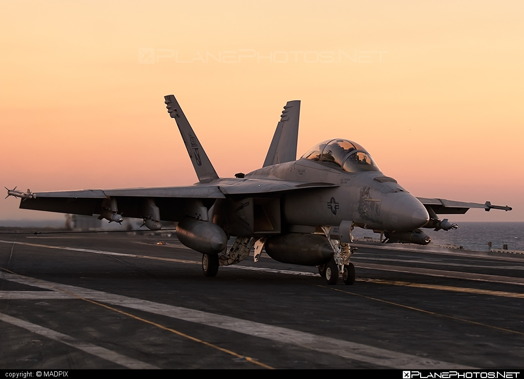 Boeing F/A-18F Super Hornet - 166628 operated by US Navy (USN) #boeing #f18 #f18hornet #f18superhornet #fa18 #fa18f #fa18superhornet #superhornet