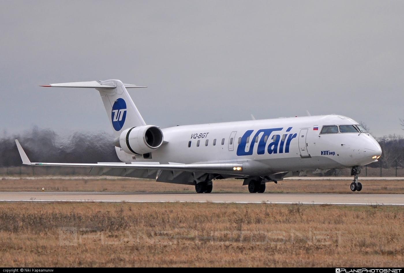Bombardier CRJ200LR - VQ-BGT operated by UTair Aviation #bombardier #crj200 #crj200lr #utair #utairaviation