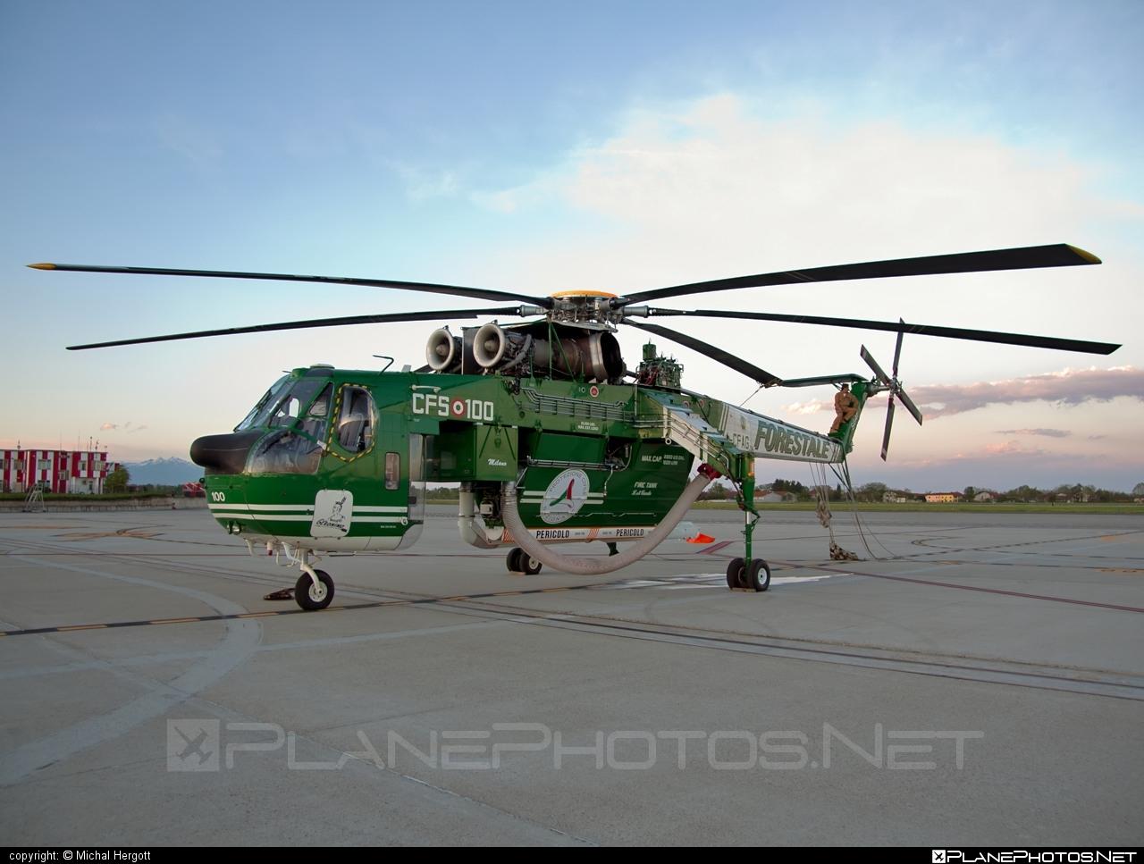 Erickson Air-Crane S-64F Aircrane - I-CFAG operated by Italy -  Servizio aereo del Corpo forestale dello Stato