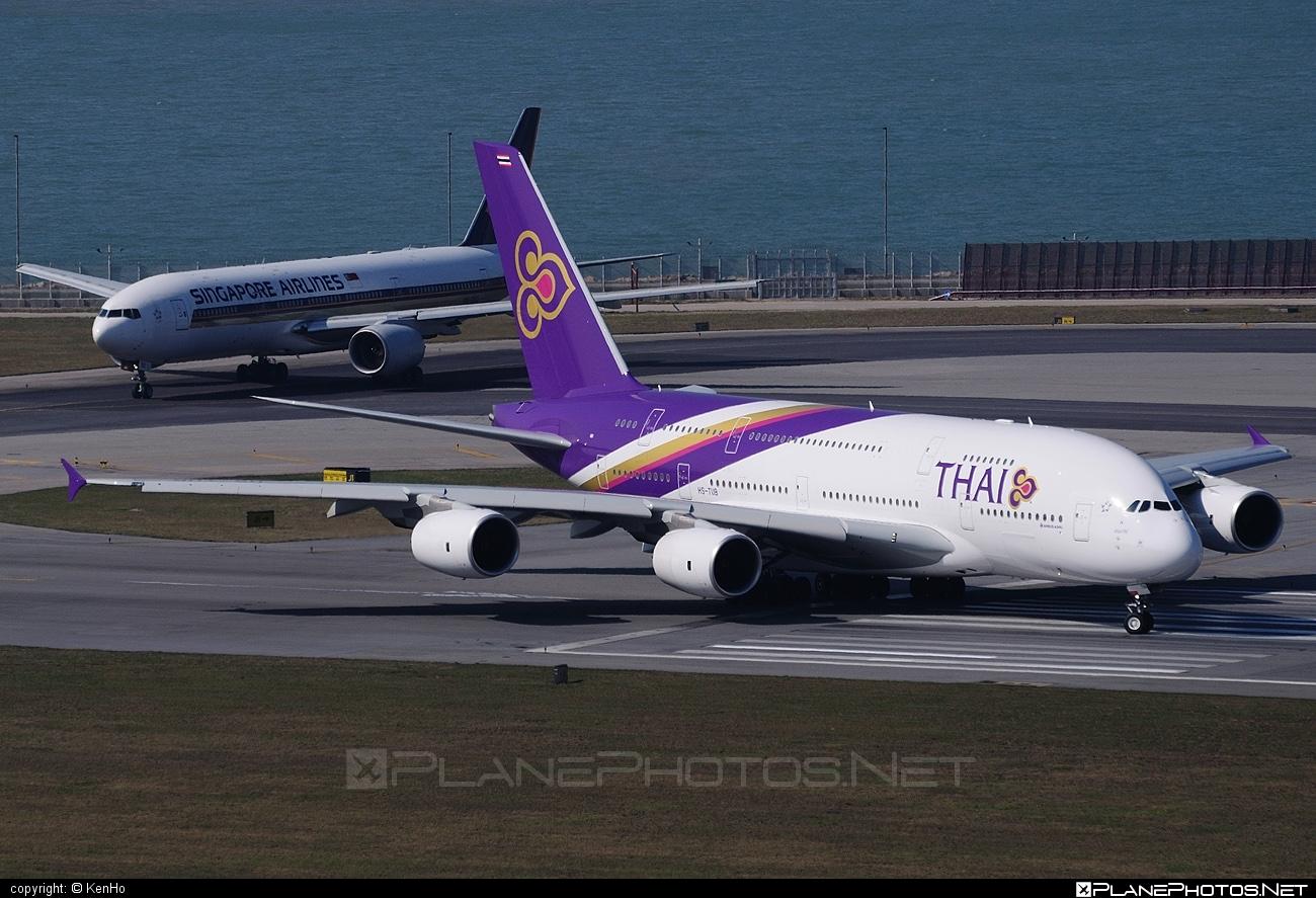 Airbus A380-841 - HS-TUB operated by Thai Airways #a380 #a380family #airbus #airbus380 #thaiairways