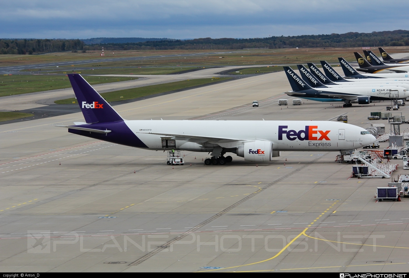 Boeing 777F - N850FD operated by FedEx Express #b777 #b777f #b777freighter #boeing #boeing777 #fedex #fedexairlines #fedexexpress #tripleseven