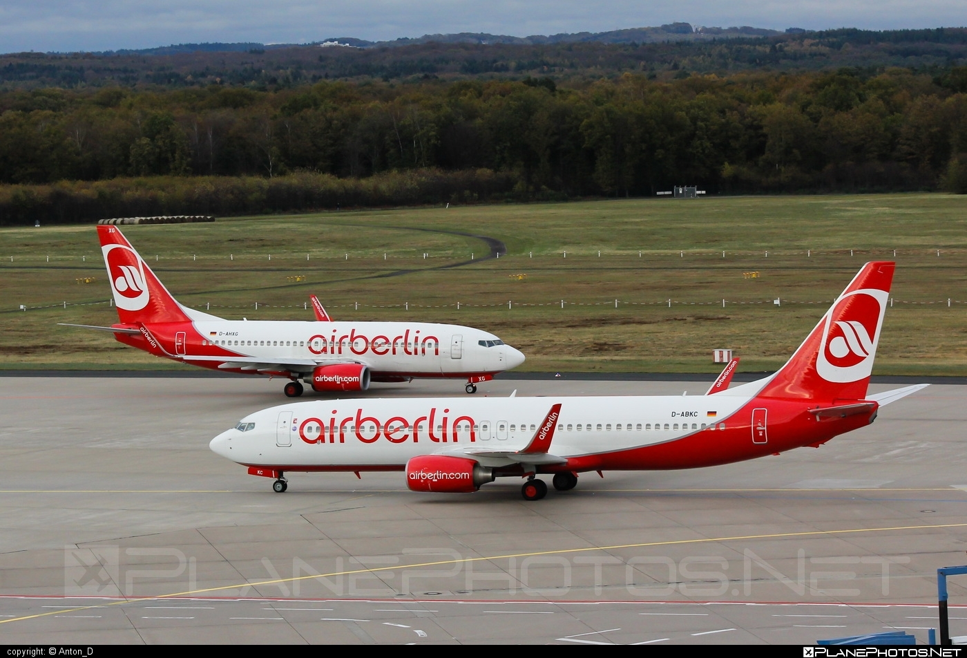 Boeing 737-800 - D-ABKC operated by Air Berlin #airberlin #b737 #b737nextgen #b737ng #boeing #boeing737