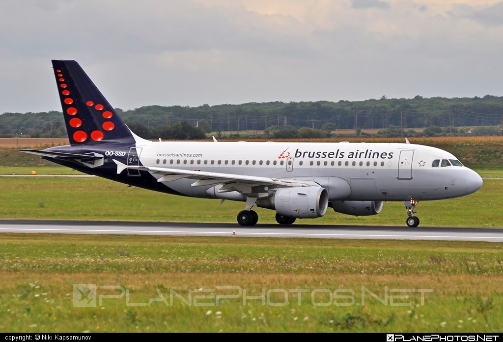 Airbus A319-112 - OO-SSD operated by Brussels Airlines #a319 #a320family #airbus #airbus319 #brusselsairlines