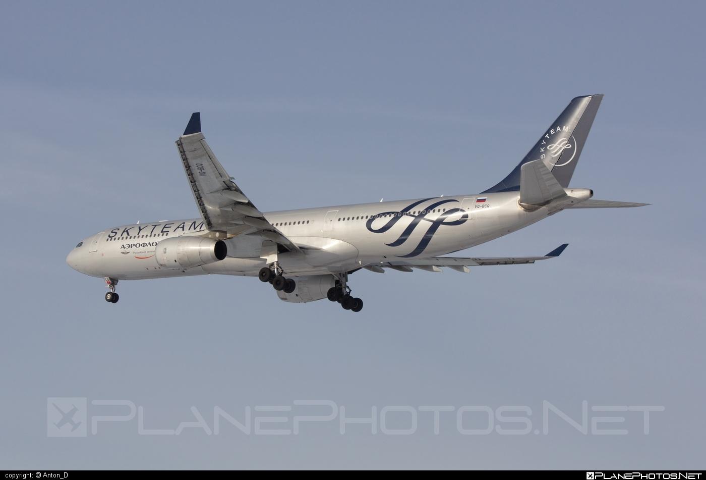 Airbus A330-343E - VQ-BCQ operated by Aeroflot #a330 #a330e #a330family #aeroflot #airbus #airbus330 #skyteam