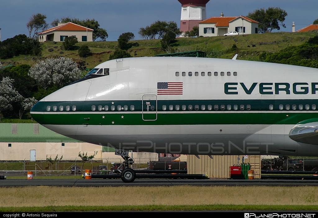 Boeing 747-200C - N470EV operated by Evergreen International Airlines #b747 #b747c #boeing #boeing747 #jumbo