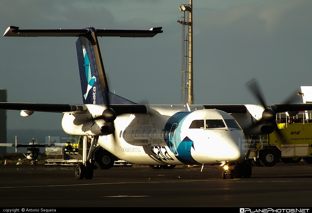 Bombardier DHC-8-Q202 Dash 8 - CS-TRC operated by SATA Air Açores #bombardier