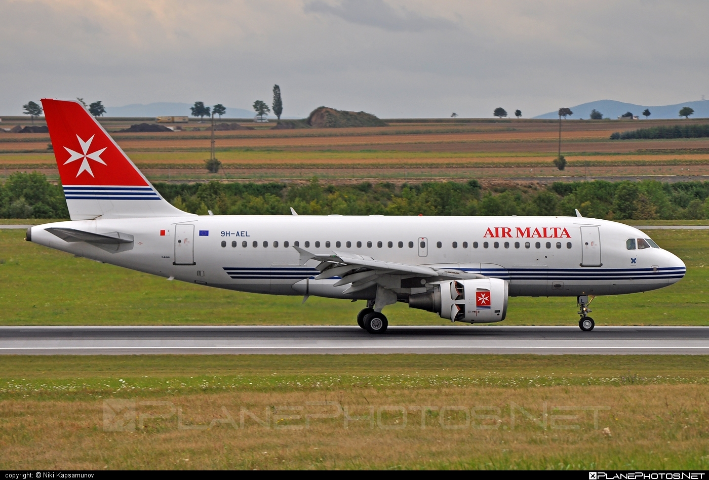 Airbus A319-111 - 9H-AEL operated by Air Malta #a319 #a320family #airbus #airbus319 #airmalta