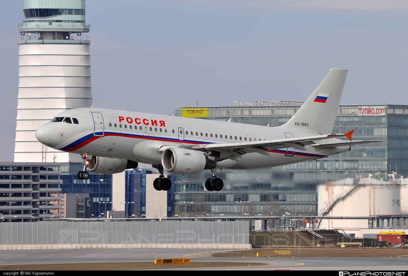 Airbus A319-111 - VQ-BAU operated by Rossiya Airlines #a319 #a320family #airbus #airbus319
