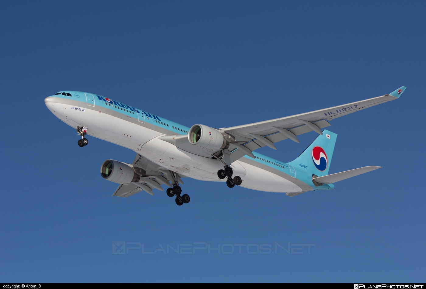 Airbus A330-223 - HL8227 operated by Korean Air #a330 #a330family #airbus #airbus330 #koreanair
