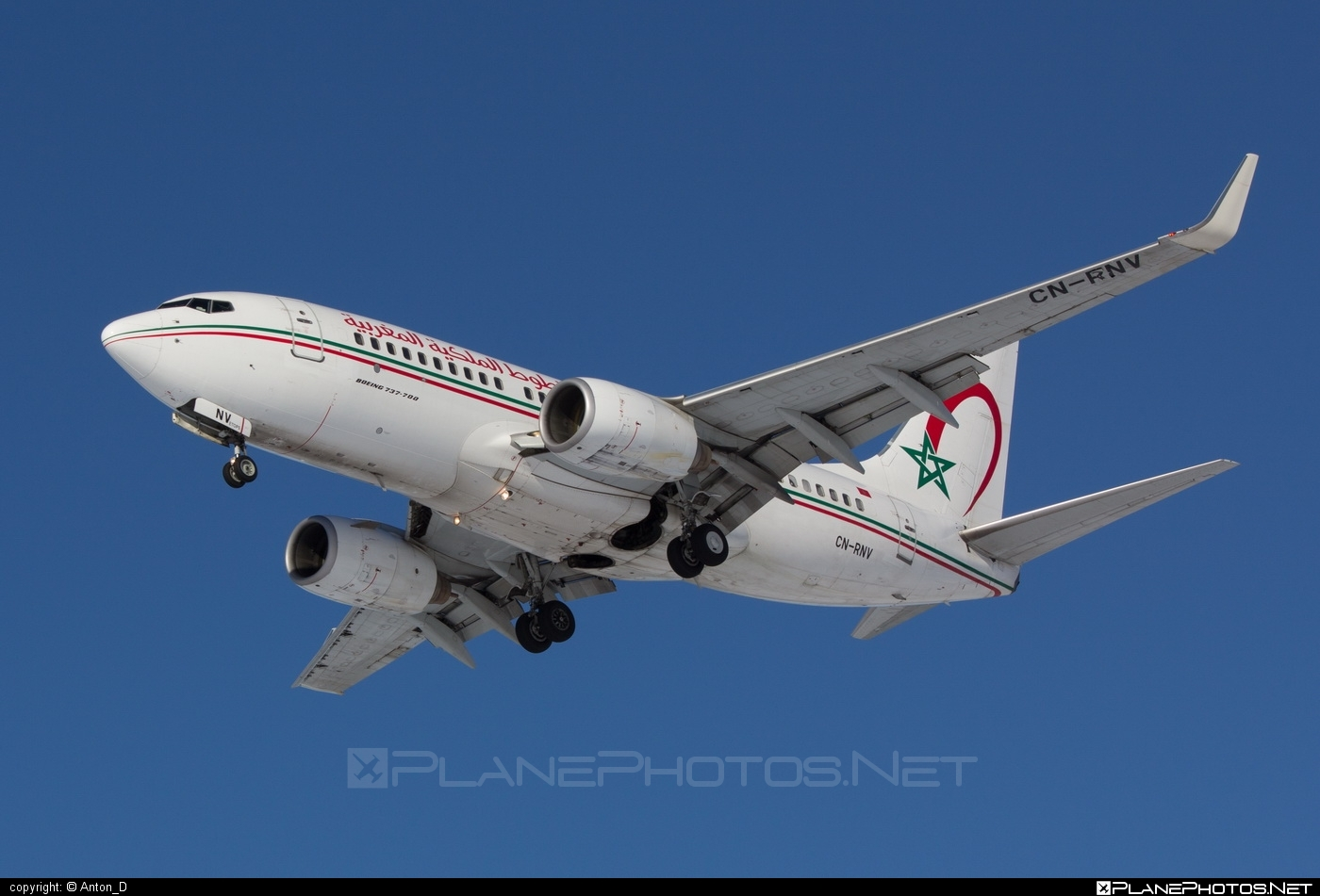 Boeing 737-700 - CN-RNV operated by Royal Air Maroc (RAM) #b737 #b737nextgen #b737ng #boeing #boeing737 #royalairmaroc