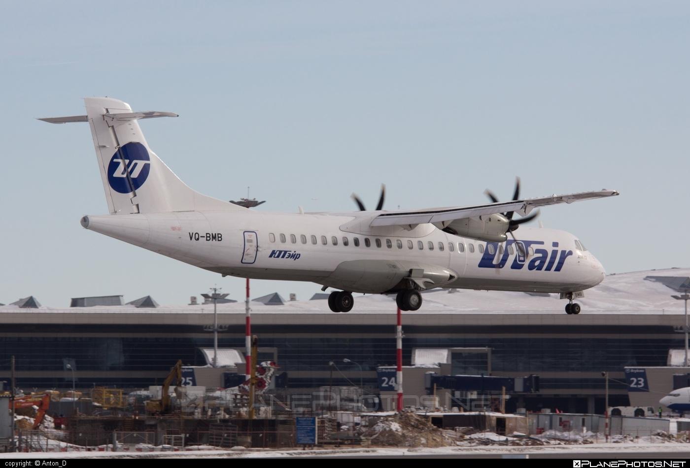 ATR 72-212A - VQ-BMB operated by UTair Aviation #atr #utair #utairaviation