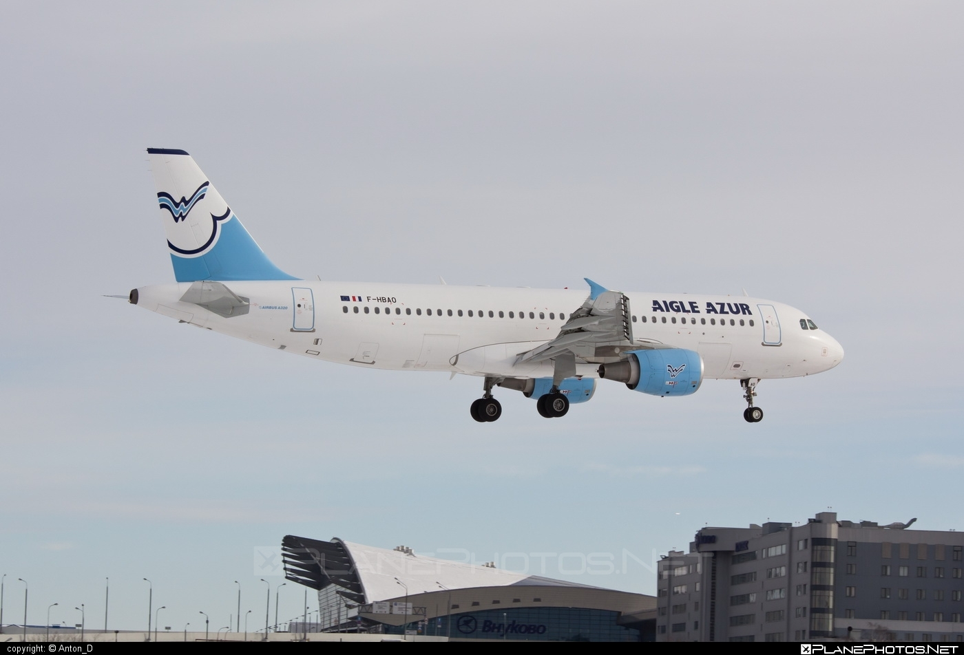 Airbus A320-214 - F-HBAO operated by Aigle Azur #a320 #a320family #airbus #airbus320