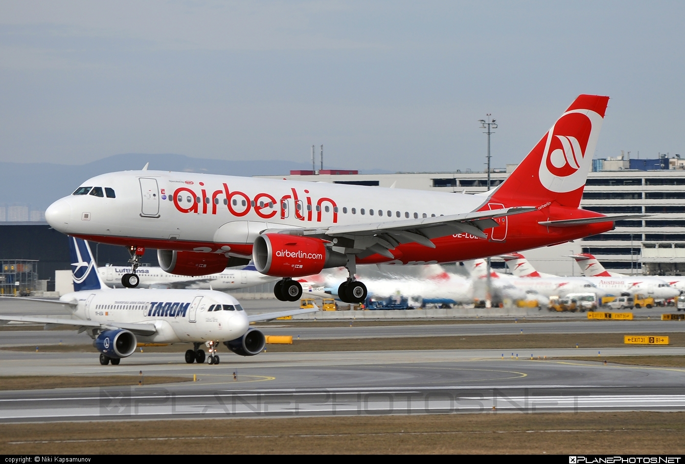Airbus A319-112 - OE-LOE operated by Air Berlin #a319 #a320family #airberlin #airbus #airbus319