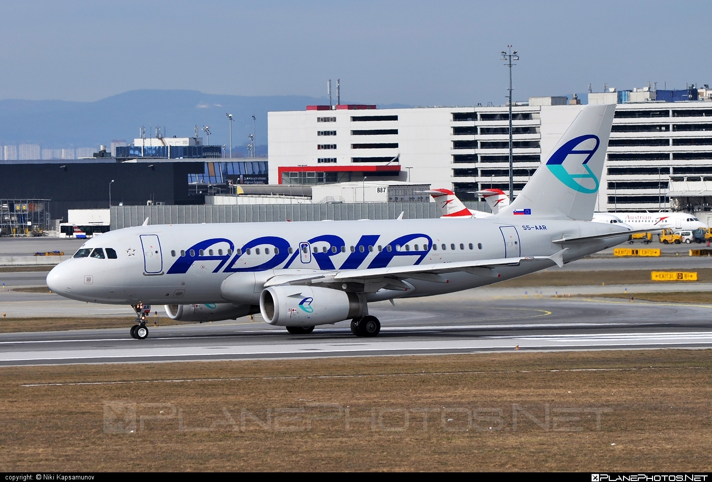 Airbus A319-132 - S5-AAR operated by Adria Airways #a319 #a320family #airbus #airbus319
