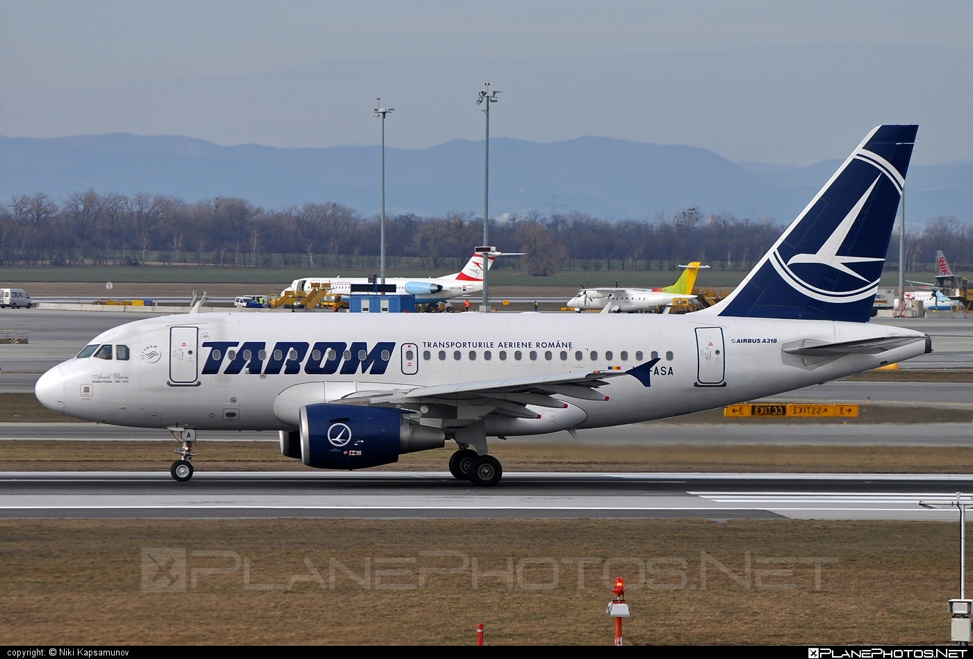 Airbus A318-111 - YR-ASA operated by Tarom #a318 #a320family #airbus #airbus318
