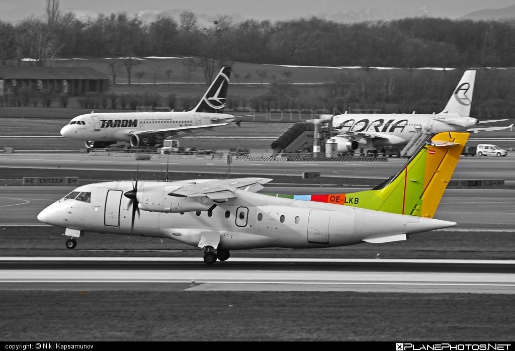 Dornier 328-110 - OE-LKB operated by Air Alps Aviation #dornier
