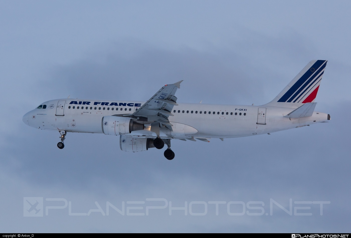 Airbus A320-214 - F-GKXI operated by Air France #a320 #a320family #airbus #airbus320 #airfrance