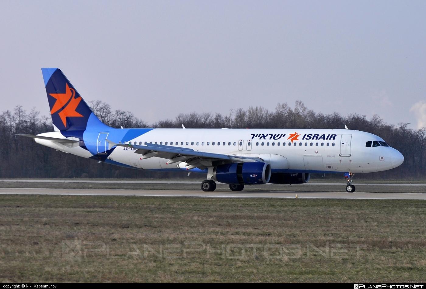 Airbus A320-232 - 4X-ABG operated by Israir #a320 #a320family #airbus #airbus320