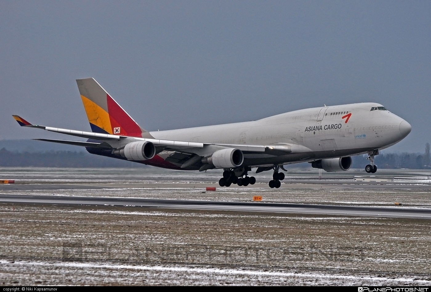 Boeing 747-400BDSF - HL7417 operated by Asiana Cargo #asianacargo #b747 #b747bdsf #b747freighter #bedekspecialfreighter #boeing #boeing747 #jumbo