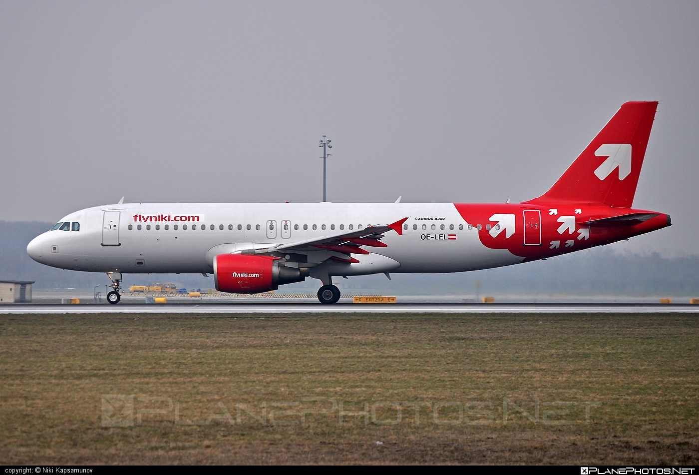 Airbus A320-214 - OE-LEL operated by Niki #a320 #a320family #airbus #airbus320 #flyniki #niki