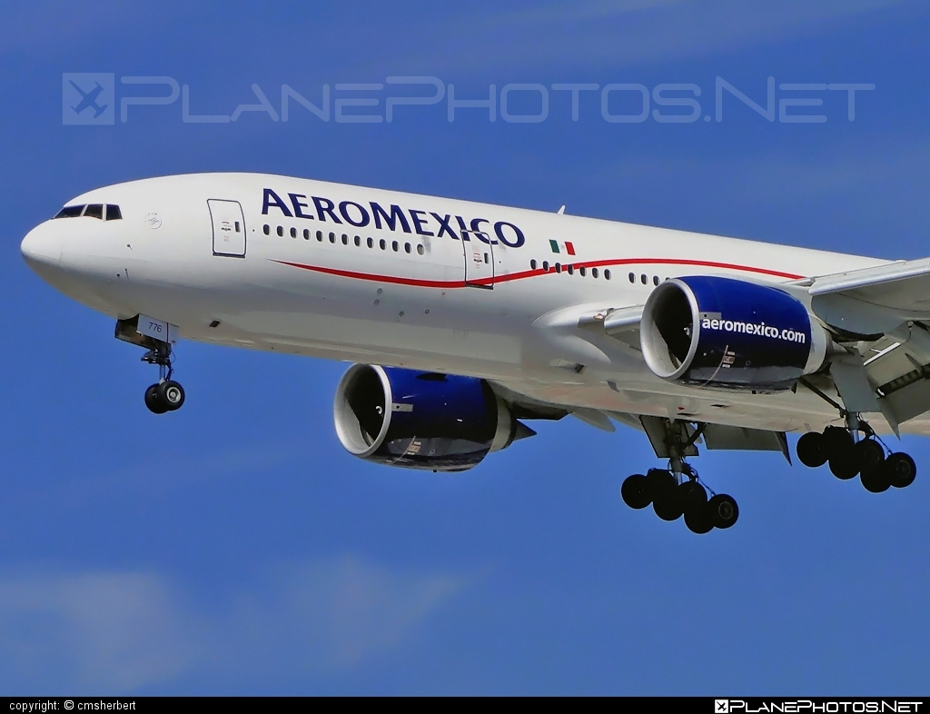 Boeing 777-200ER - N776AM operated by Aeroméxico #b777 #b777er #boeing #boeing777 #tripleseven