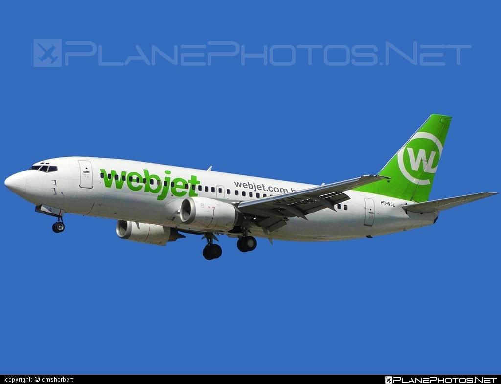 Boeing 737-300 - PR-WJL operated by WebJet Linhas Aéreas #b737 #boeing #boeing737