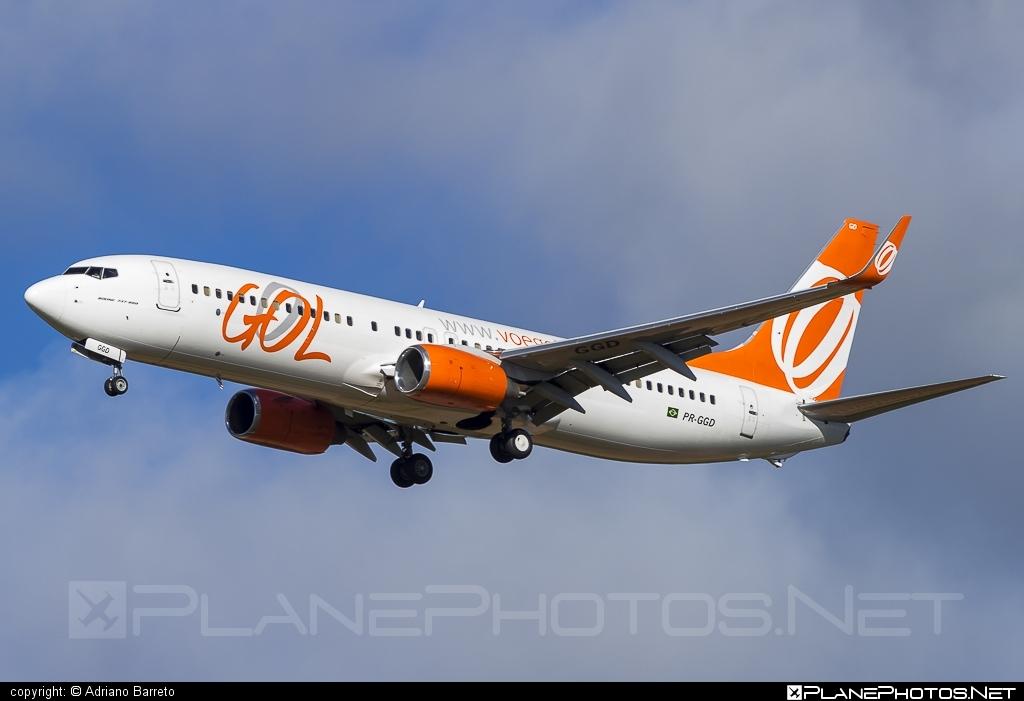 Boeing 737-800 - PR-GGD operated by GOL Linhas Aéreas Inteligentes #b737 #b737nextgen #b737ng #boeing #boeing737