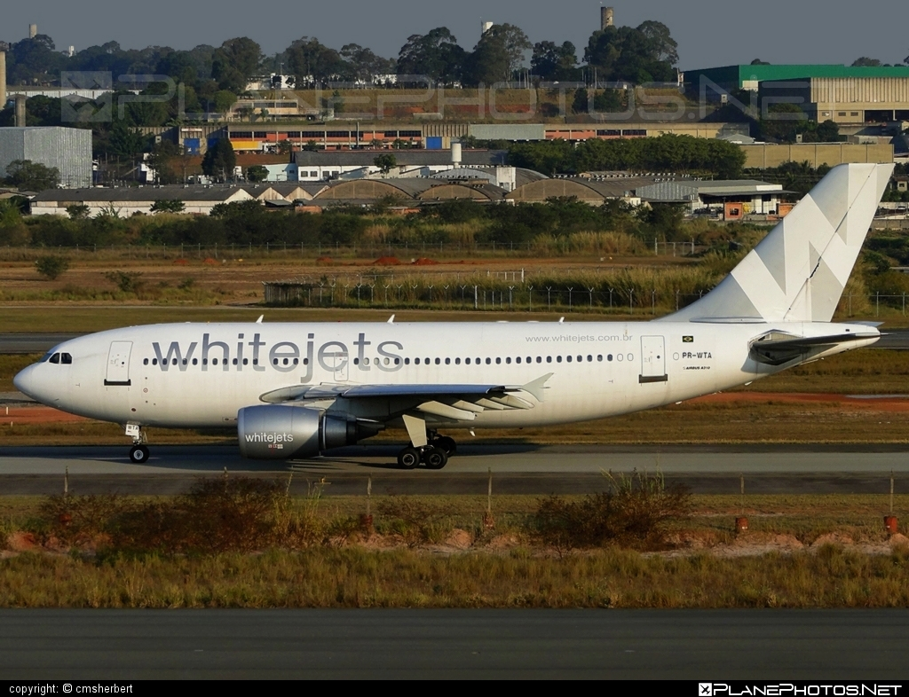 Airbus A310-304 - PR-WTA operated by Whitejets Transportes Aéreos #a310 #airbus