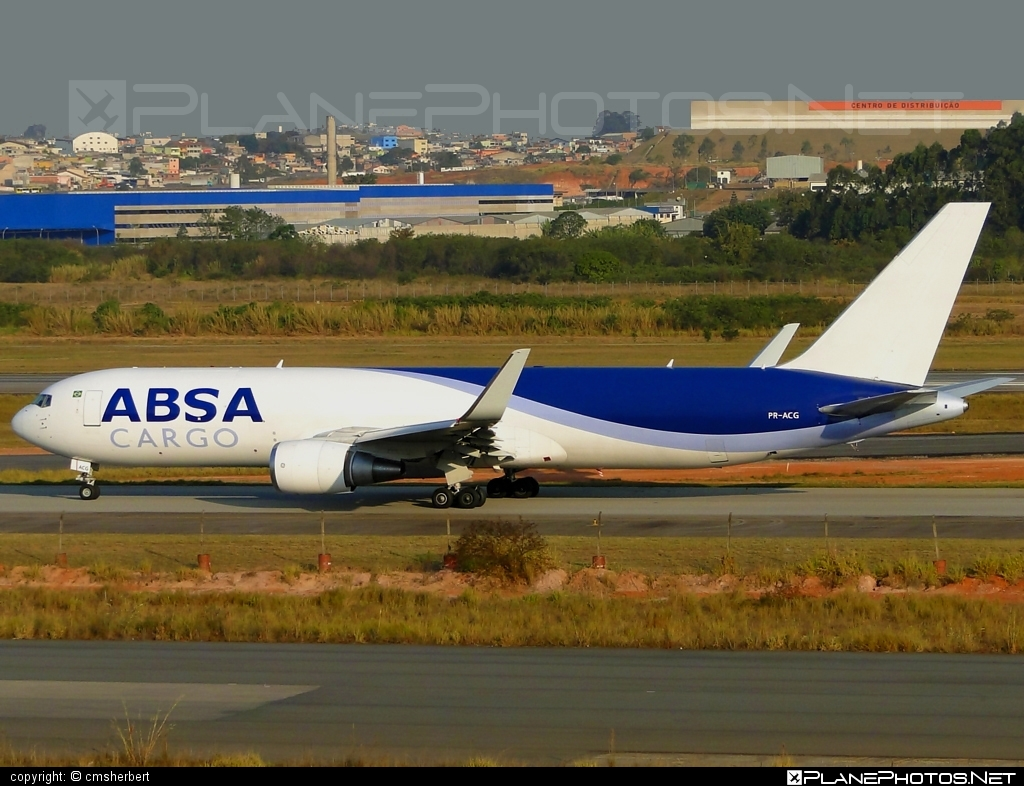 Boeing 767-300F - PR-ACG operated by ABSA Cargo Airline #b767 #b767f #b767freighter #boeing #boeing767