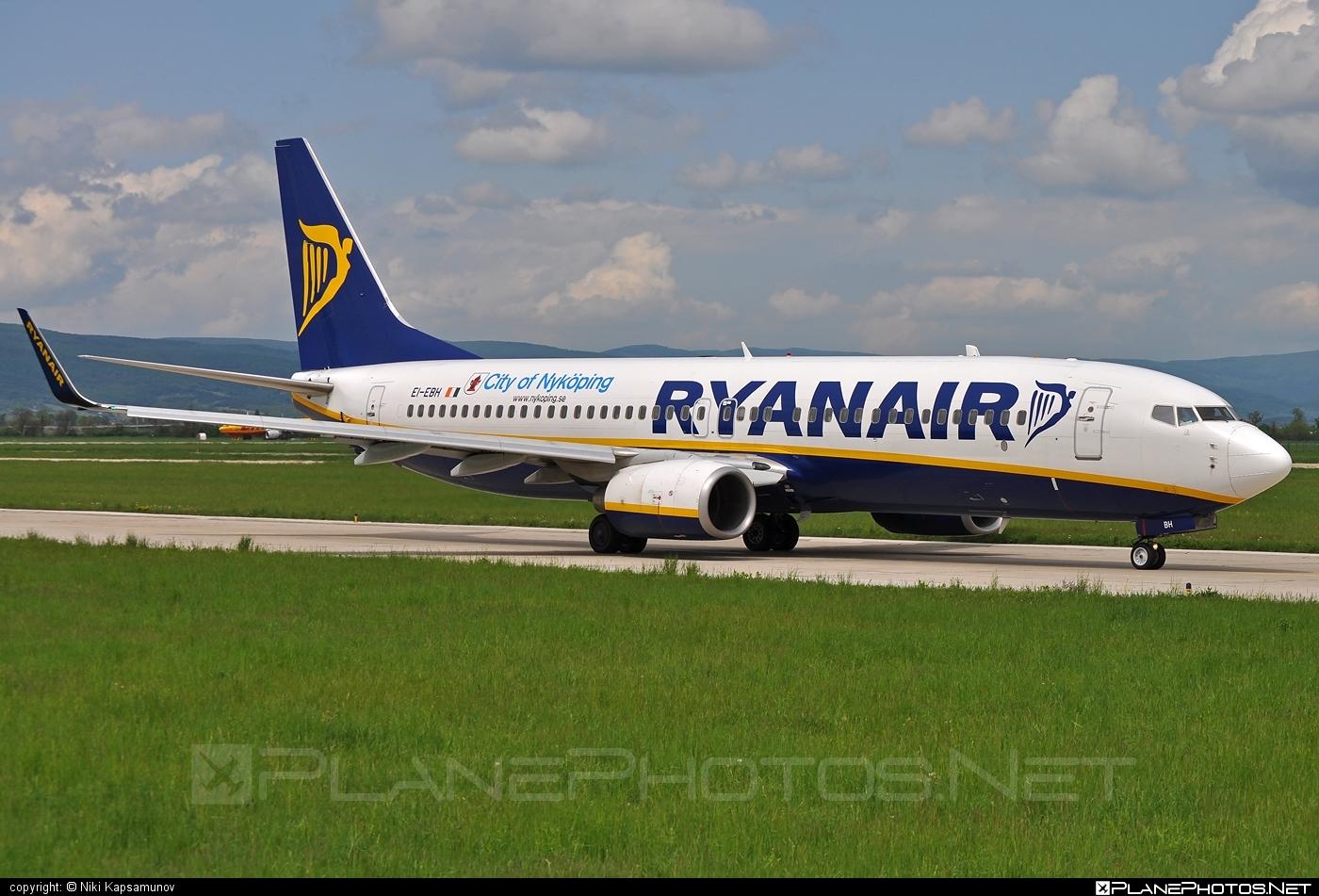 Ryanair Boeing 737-800 - EI-EBH #b737 #b737nextgen #b737ng #boeing #boeing737 #ryanair
