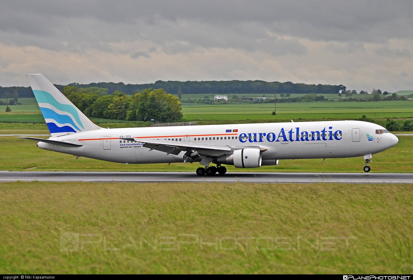 Boeing 767-300ER - CS-TFS operated by EuroAtlantic Airways #b767 #b767er #boeing #boeing767 #euroatlantic #euroatlanticairways